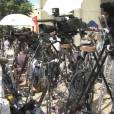 Kate Middleton enceinte : les journalistes attendent la naissance devant l'hôpital St Mary.