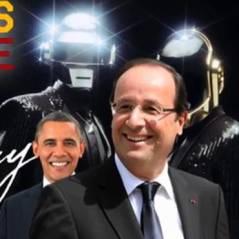 Get Lucky par François Hollande : après Obama, le Président français à la sauce Daft Punk