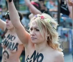 """Inna Shevchenko, chef de  file des Femen a inspiré le visage de la nouvelle """"Marianne"""" figurant sur les timbres français"""