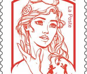 """Le nouveau timbre """"Marianne"""" inspiré d'une Femen"""