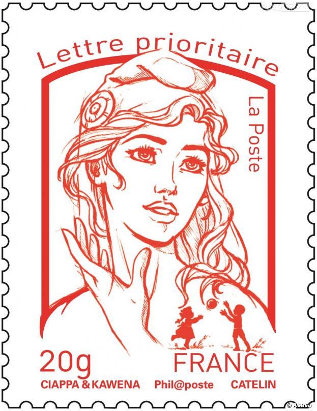 Le nouveau timbre marianne inspir d 39 une femen d j - Dessin marianne ...