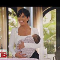 Kim Kardashian : sa mère piège les téléspectateurs avec un faux bébé North