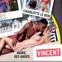 Marie Parmentier topless et en couple avec Mich (la Belle et ses princes 2) dans Public