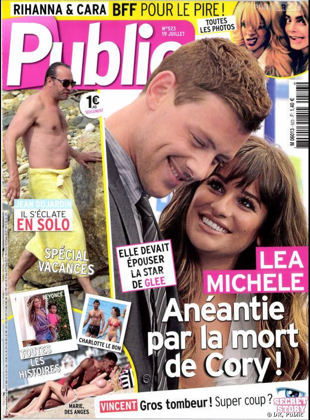 Marie Parmentier topless et en couple avec Mitch de La Belle et ses princes 2 en couv' du magazine Public