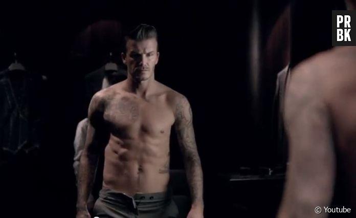 David Beckham Sexy Et Torse Nu Pour La Pub De Son Parfum Purebreak