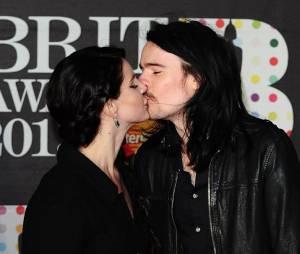 Lana Del Rey et Barrie-James O'Neill aux Brit Awards 2013