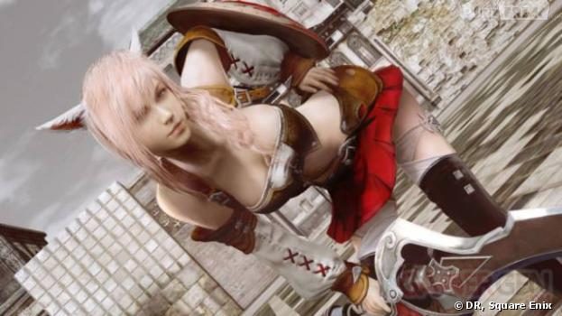 Des seins plus gros pour Lightning dans Final Fantasy