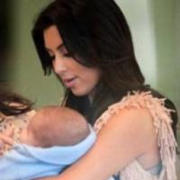 Kim Kardashian : enfin une photo de North West ? La provoc de la bimbo