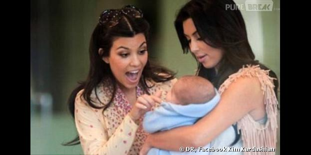 Kim Kardashian : la fausse première photo de North West