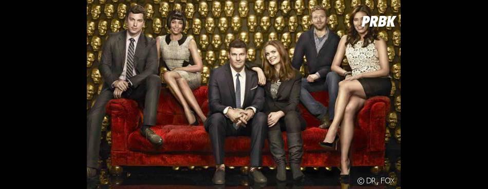 Bones saison 9 : photo de groupe