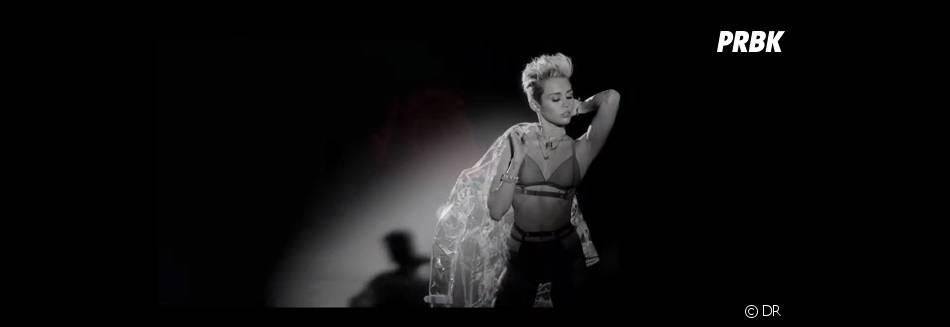 Miley Cyrus : tenue sexy pour le clip de Big Sean