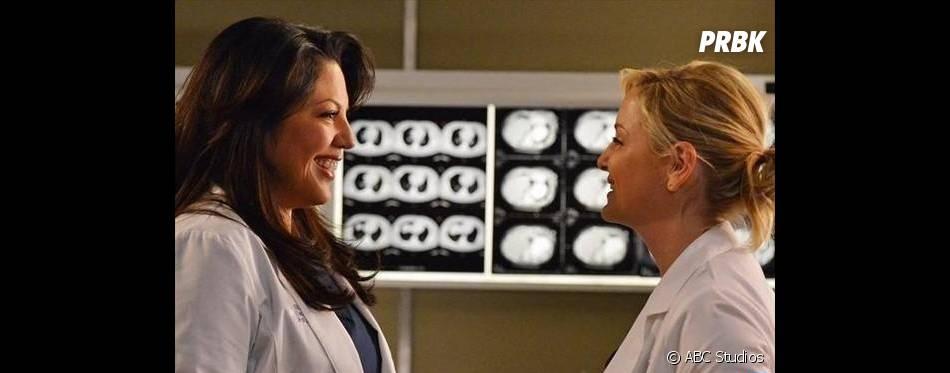 Grey's Anatomy saison 10 : les deux femmes pourraient partir au clash
