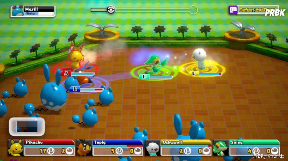 Pokémon Rumble U sort le 15 août 2013 en Europe