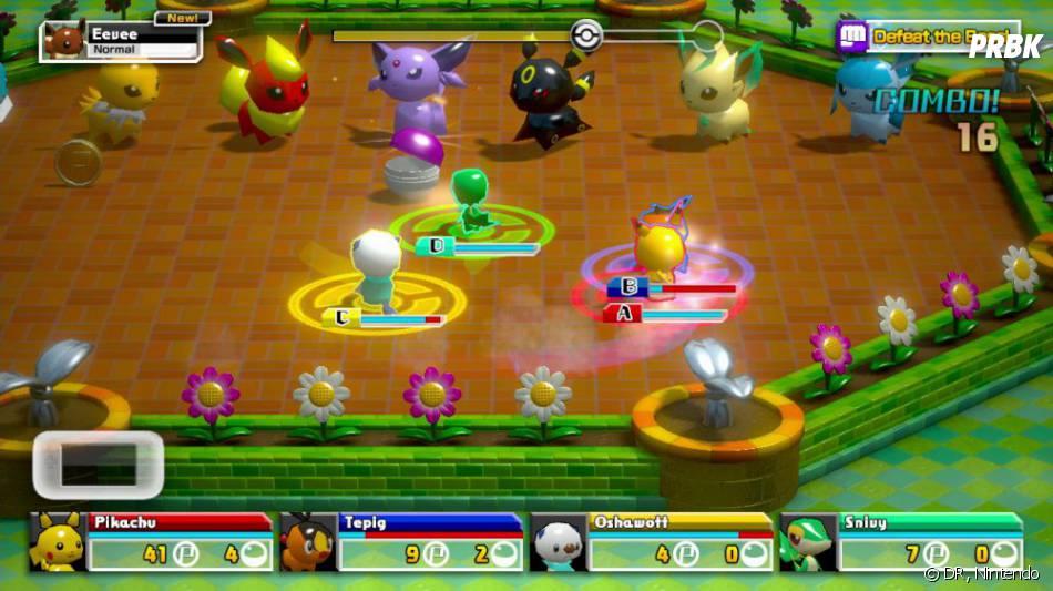 Pokémon Rumble U sortira sur l'eShop de la Wii U le 15 août 2013