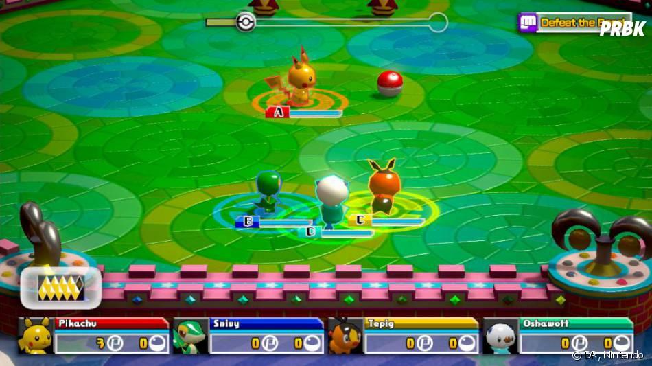Pokémon Rumble U est disponible au Japon depuis le 24 avril 2013