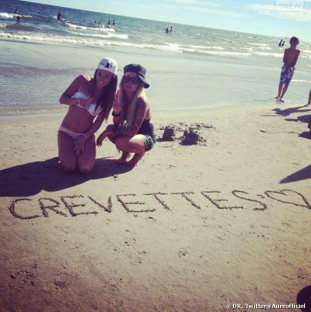 Les Anges de la télé-réalité 5 : Capucine Anav et Aurélie Dotremont en vacances sur Twitter.