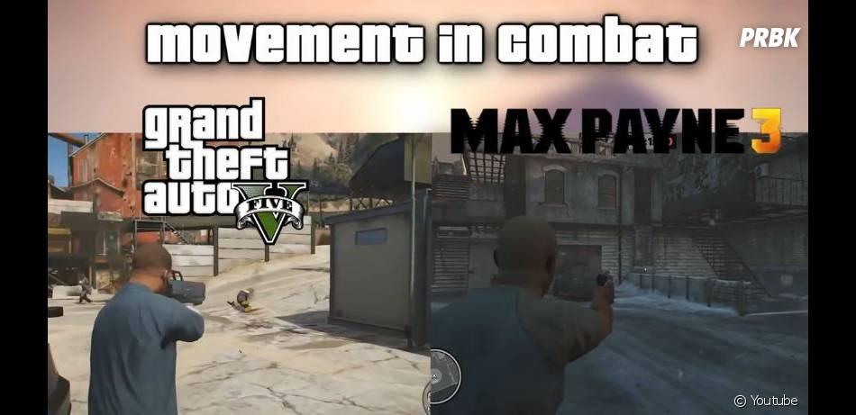 GTA 5 : les mouvements en combat seraient identiques à ceux de Max Payne 3
