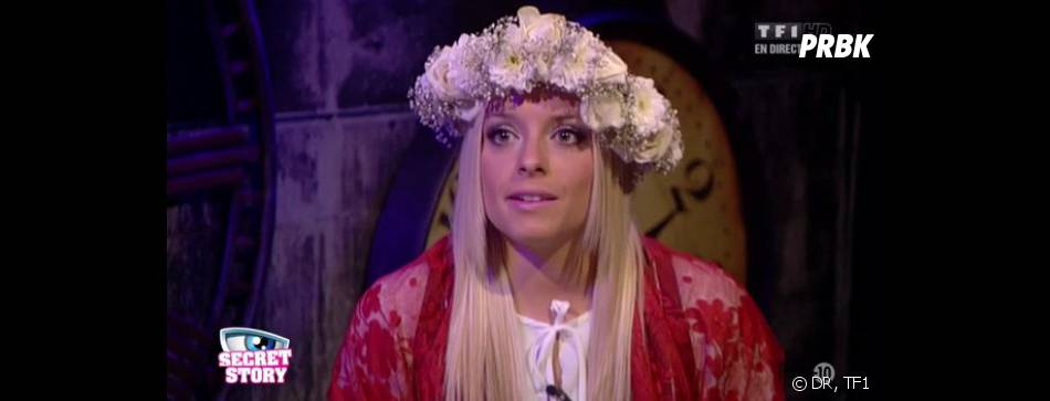 Secret Story 7 : Alexia et le vêtement traditionnel portugais.