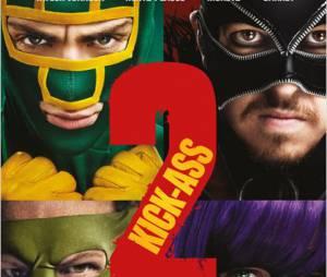 Kick-Ass 2, l'affiche.
