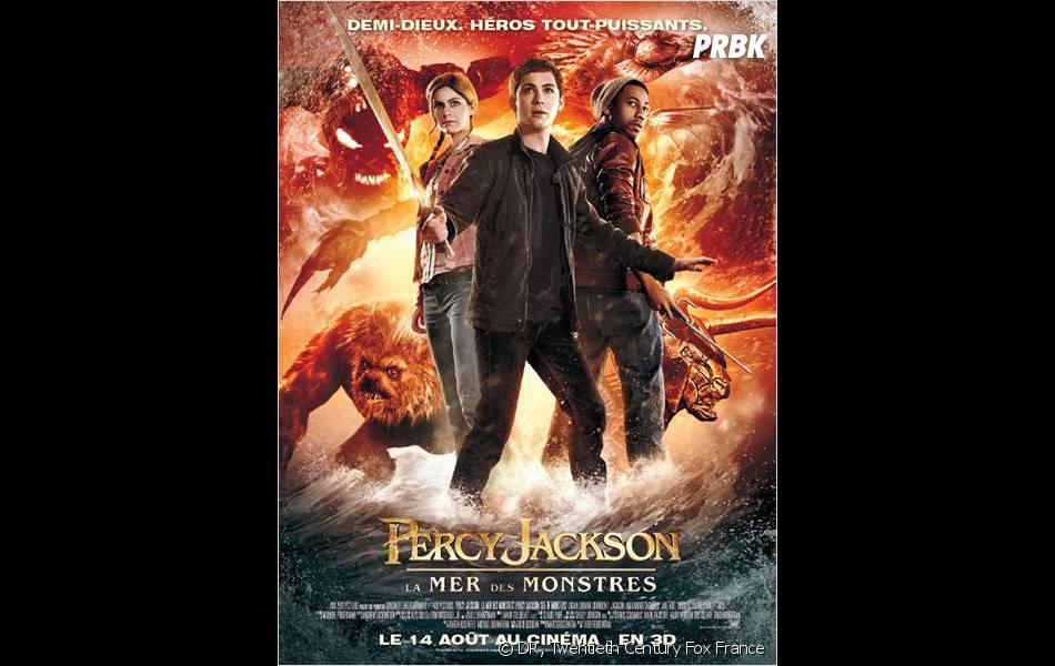 Percy Jackson - la Mer des Monstres sort ce mercredi 14 août 2013