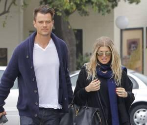 Josh Duhamel et Fergie ont officialisé la grossesse de la chanteuse des Black Eyed peas au mois de février 2013