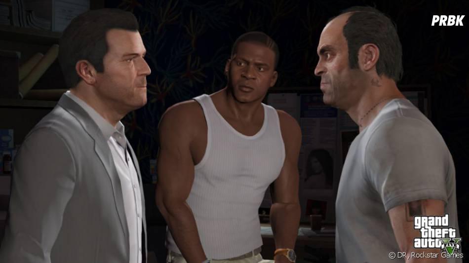 GTA 5 : Michael, Franklin et Trevor, les trois héros du jeu