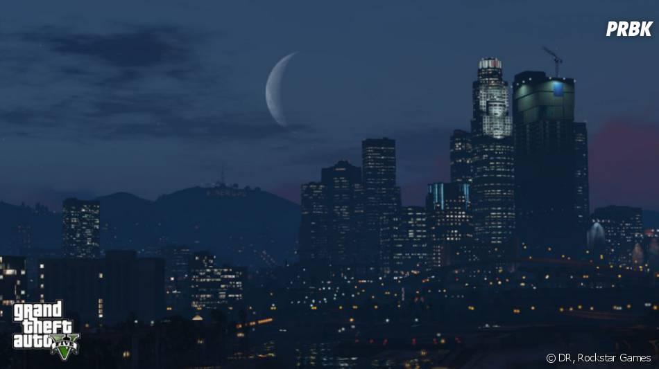GTA 5 : Los Santos de nuit
