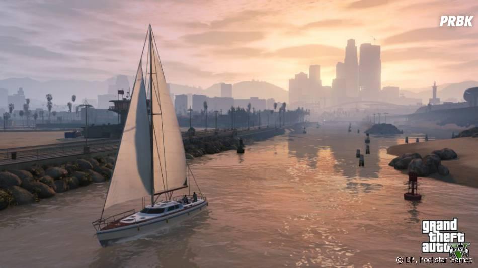 GTA 5 : les virées en bateau seront au rendez-vous