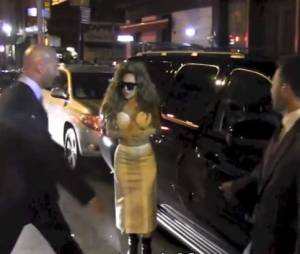 Lady Gaga : une vraie diva à la sortie de l'after party des MTV VMA 2013