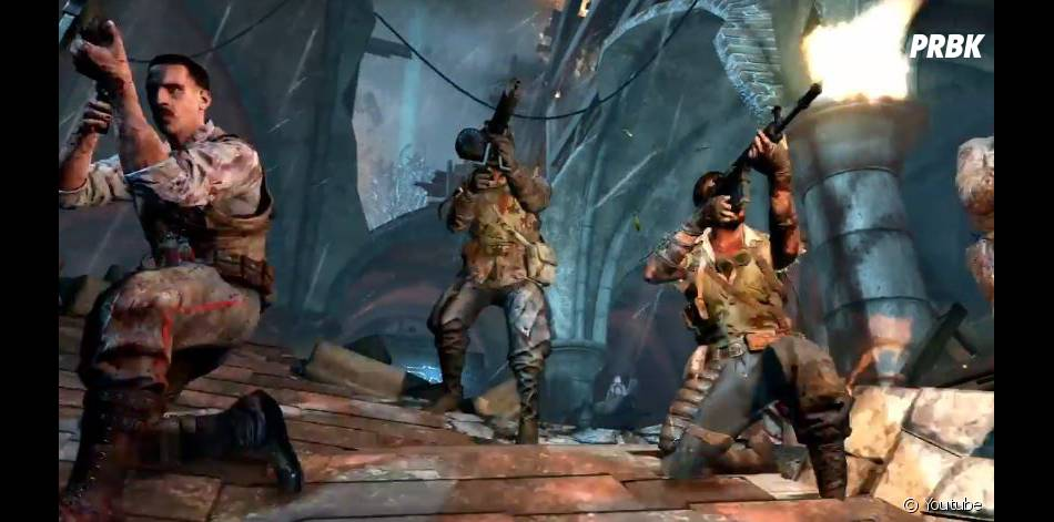 Call of Duty Black Ops 2 'Apocalypse' : des zombies s'en prennent aux GIs