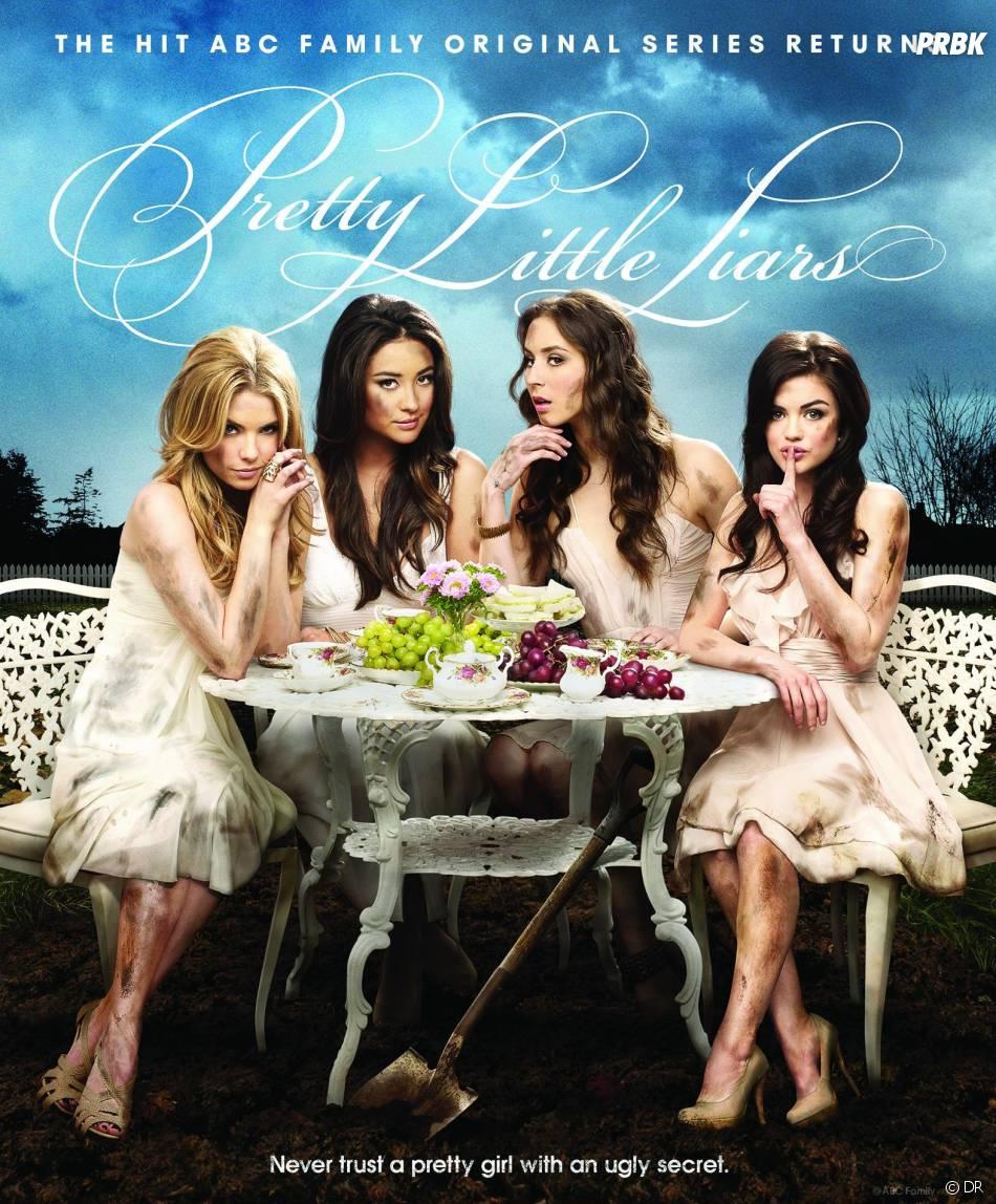 Pretty Little Liars saison 4 : les petites menteuses découvrent le repère de A