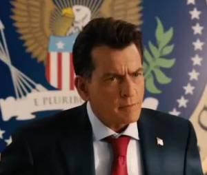 Charlie Sheen, président des USA dans le trailer de Machete Kills