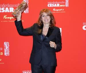 Valérie Benguigui resplendissante lors des César en février 2013.
