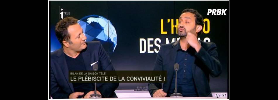 """Cyril Hanouna et Arthur : ambiance tendue dans """"L'hebdo des médias"""""""