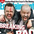 Breaking Bad saison 6 : Aaron Paul et Bryan Cranston en couv' d'EW