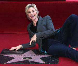 Jane Lynch reçoit son étoile sur le Walk of Fame le 4 septembre 2013