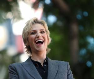 Jane Lynch de Glee a son étoile sur le Walk of Fame le 4 septembre 2013
