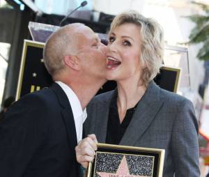 Jane Lynch et Ryan Murphy le 4 septembre 2013