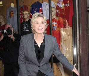 Jane Lynch sur le Walk of Fame le 4 septembre 2013