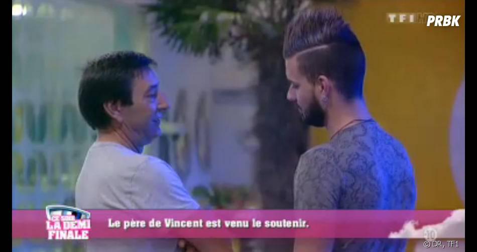 Secret Story 7 : Vincent retrouve son papa.
