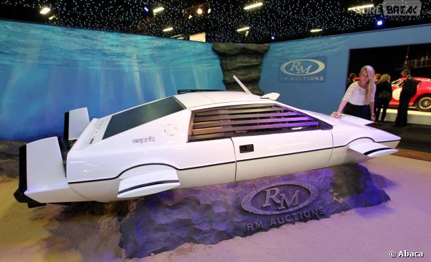 James Bond : sa voiture vendue aux enchères