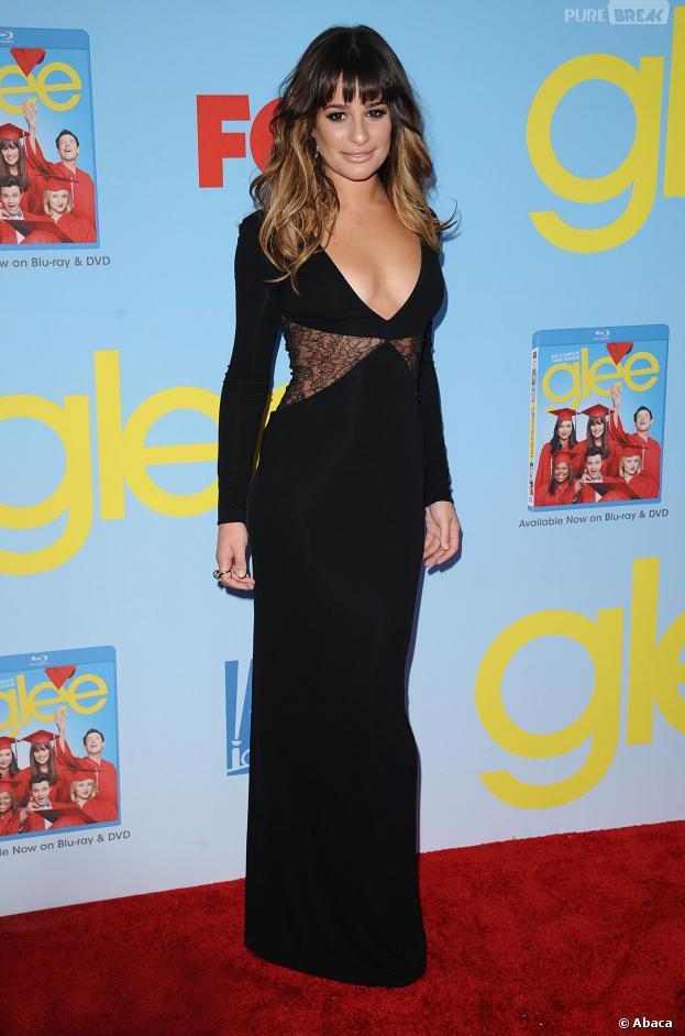 Lea Michele veut garder le sourire après la mort de Cory Monteith