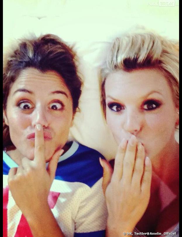 Secret Story 7 : Amélie Neten et Anaïs plus complices que jamais.