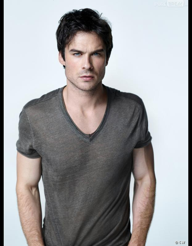 Vampire Diaries saison 5 : Ian Somerhalder sur une photo promo