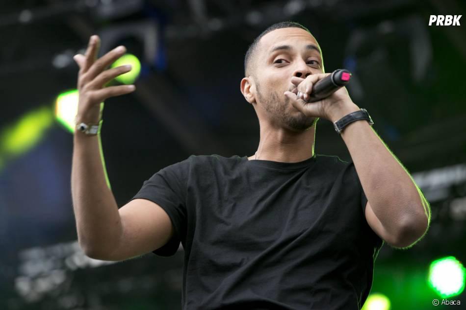 Disiz sur scène à Paris, le 19 juillet 2012