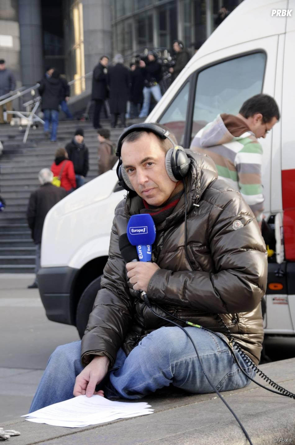 Jean-Marc Morandini pendant des manifestations anti-crise, le 29 janvier 2009 à Paris