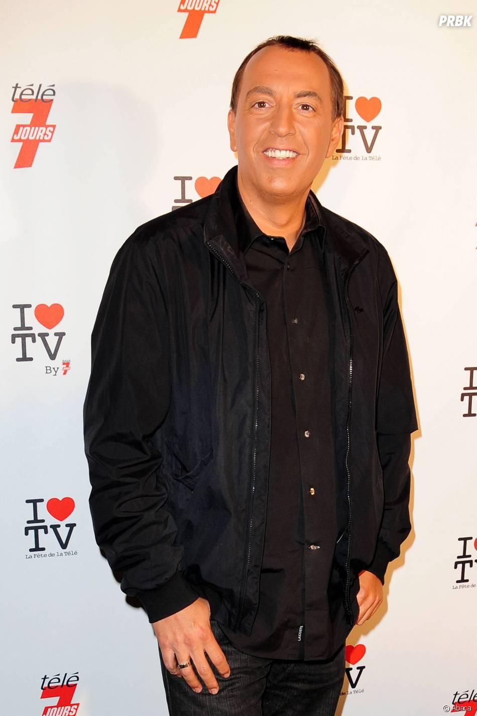 """Jean-Marc Morandini sur le tapis rouge de """"La Fête de la télé 2010"""""""