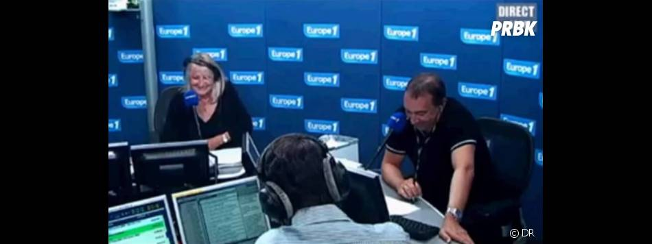 "Jean-Marc Morandini anime ""Le grand direct des médias"" sur Europe 1"