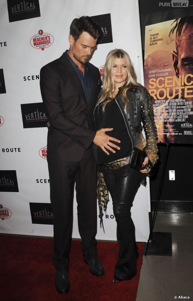 Fergie et Josh Duhamel : Axl Jack Duhamel en photo sur Facebook