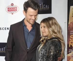 Fergie et Josh Duhamel à un événement au mois d'août 2013